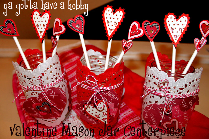 With Valentineu0027s Day Approaching Very Quickly, I Thought Iu0027d Share A Super  Easy Centerpiece Idea I Came Up With Last Weekend. I Needed Something Easy  To ...